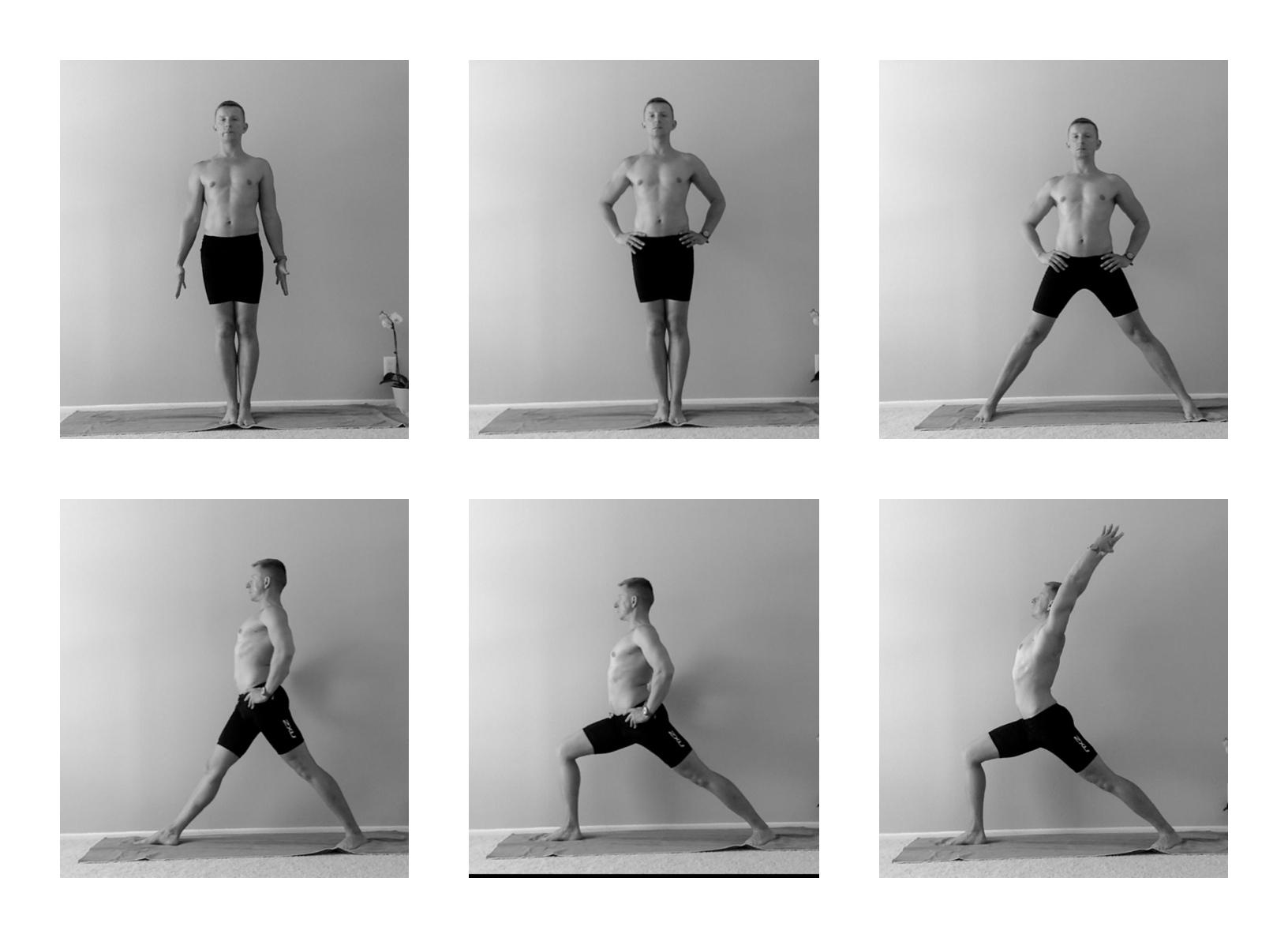 Virabhadrasana - Yoga 4 Men