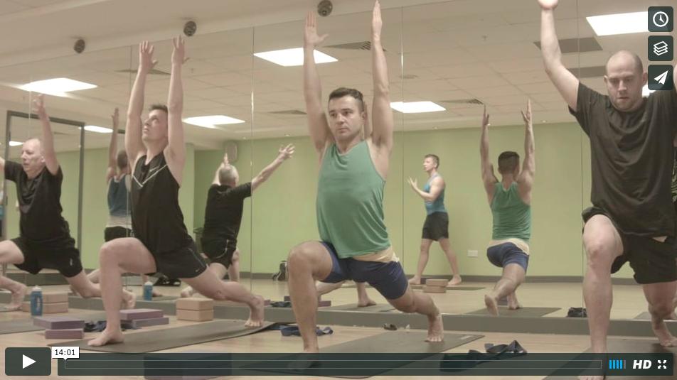 yoga4men Class - y4m